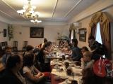 Ростов Великий. На обеде после поездки