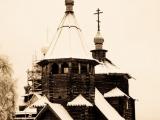 В музее деревянного зодчества г. Суздаль